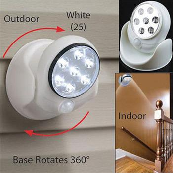 Nuovi principali Movimento luce di emergenza attivato Cordless Luce Base ruota di 360 PIR del sensore di movimento Night Lights Lampade luz de emergencia