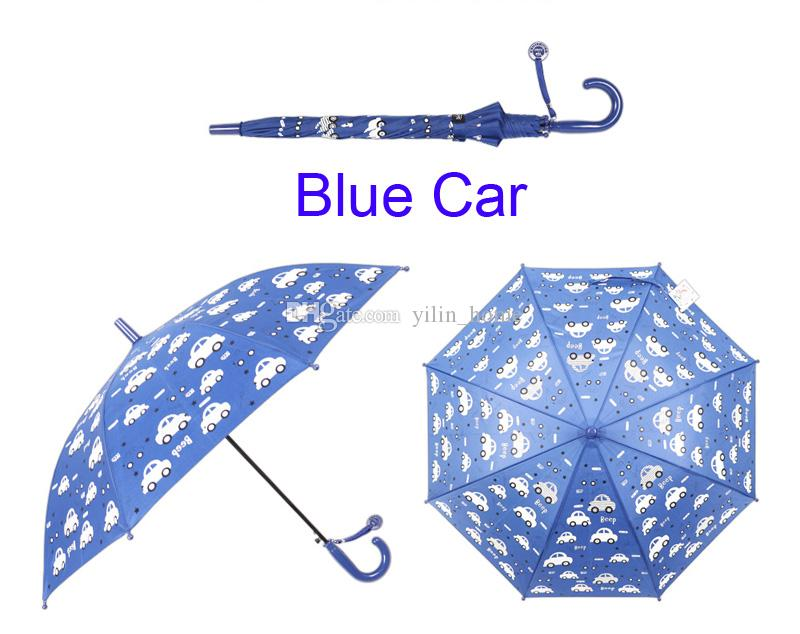 Cartoon Umbrellas Windproof Umbrellas Sunny and Rainy Umbrella will change color touch water 6 colors available