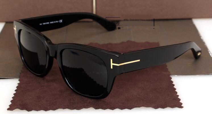 New retro Polarized sunglasses t58 vintage style for women &men can be myopia lenses prescription sunglasses with case