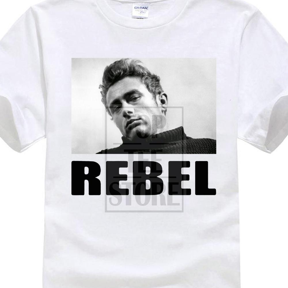 Fresh James Dean Rebel T Shirt - صور تي شيرت Diverses Couleurs Tailles 3d طباعة 100 ٪ قطن تي شيرت قصير الأكمام تي