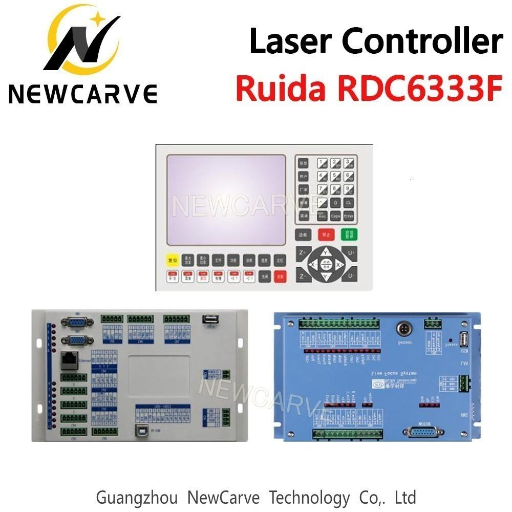 El corte Ruida RDC6333F DSP Controlador de láser de fibra para corte por láser de la máquina NEWCARVE