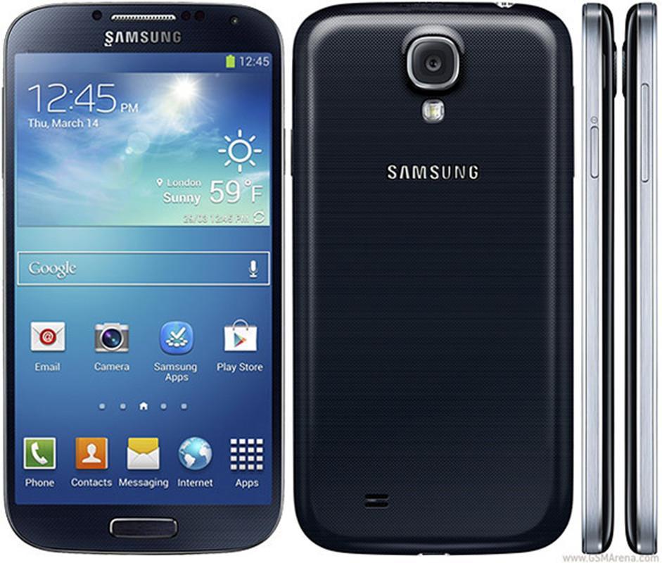 i9500 تجديدها الأصلي سامسونج غالاكسي S4 i9505 5.0 بوصة رباعية النواة 2GB RAM 16GB ROM 13MP الجيل الثالث 3G 4G LTE مقفلة الهاتف الذكي