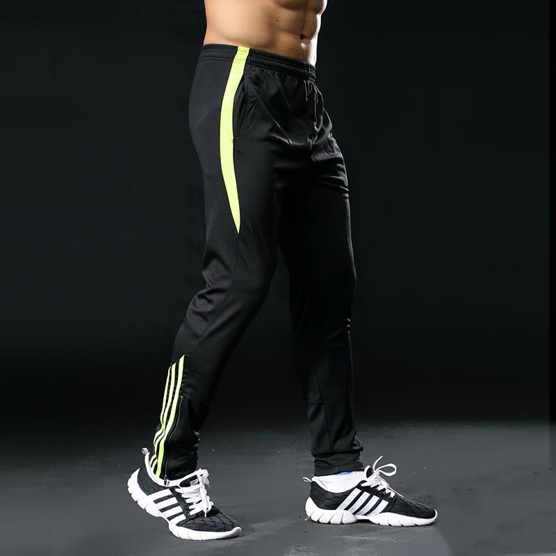 Gym Running pant Training Long Pants Professional Men soccer game Running Athletic Sportswear Jogging Trousers 325 T200327