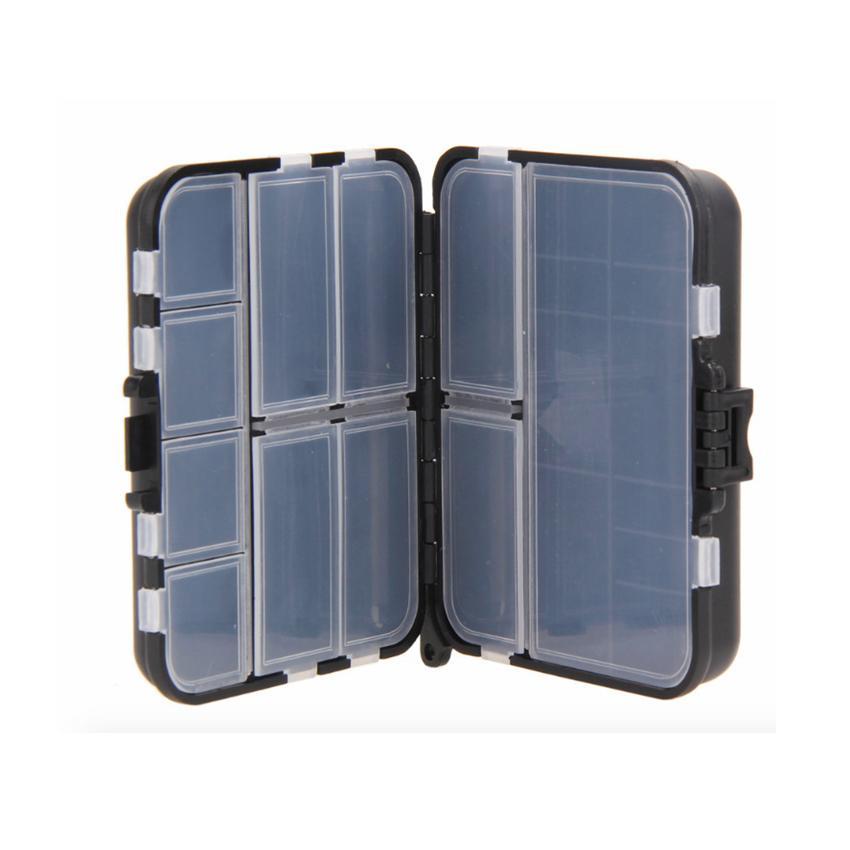 26 Compartimentos Caja de pesca Cajas de aparejos de pesca Señuelo de pesca Cebo Tackle Caja de almacenamiento de plástico resistente al agua ZZA386