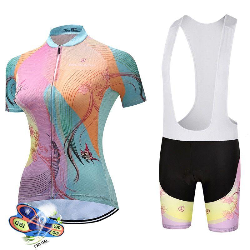 Cyclisme Jersey 2020Women Summer Set respirante Vêtements Vélo VTT route Ropa Ciclismo vélo Maillot Cuissard