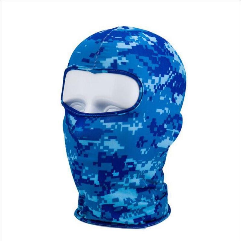 Las máscaras a prueba de viento de ciclo de la cara llena de la cara del calentador del invierno pasamontañas Moda bicicletas deporte al aire libre de la bufanda Máscara de bicicletas esquí de la snowboard DBC VT1020