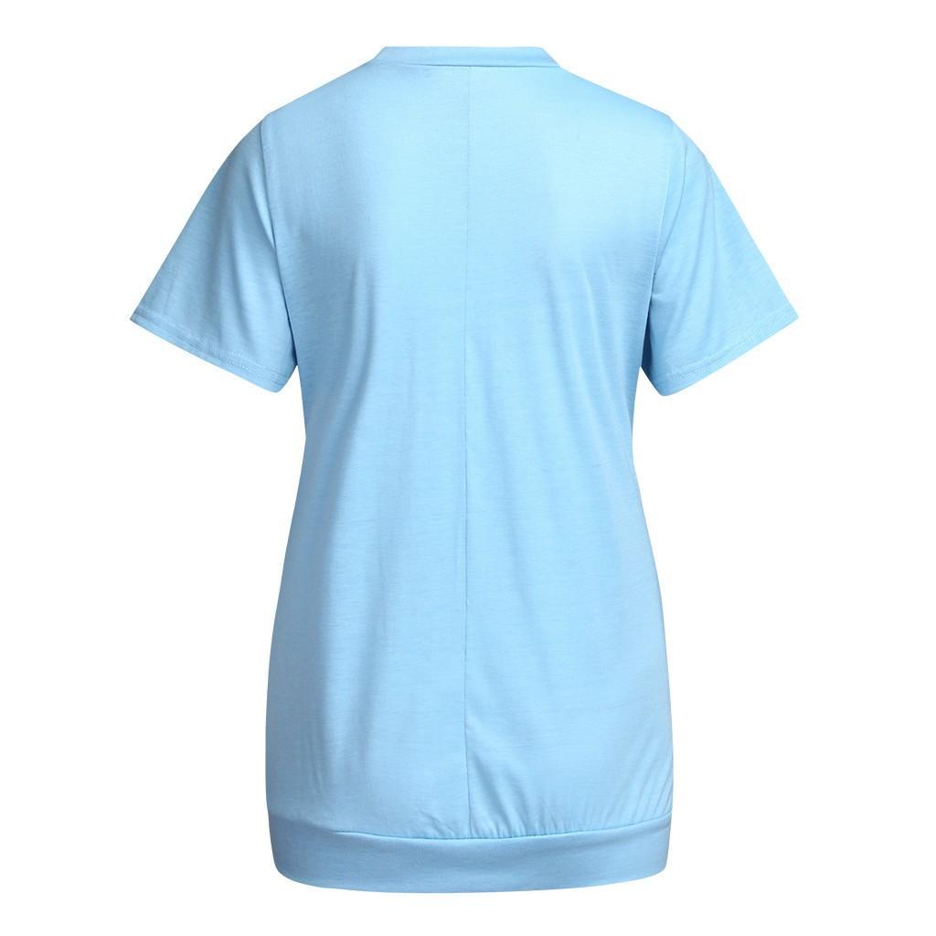 enfermagem tops curtos de maternidade de verão da luva t-shirt amamentando topo da blusa mulheres amamentando roupas para mulheres grávidas ZF