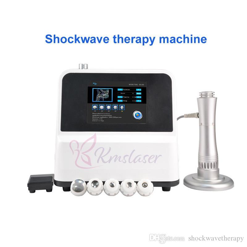Prezzo di fabbrica SW5S Shockwave Therapy macchina di bellezza Shock Wave tessuto dolore distruzione Diminuzione fisioterapia gainswave ED disfunzione dysfunct
