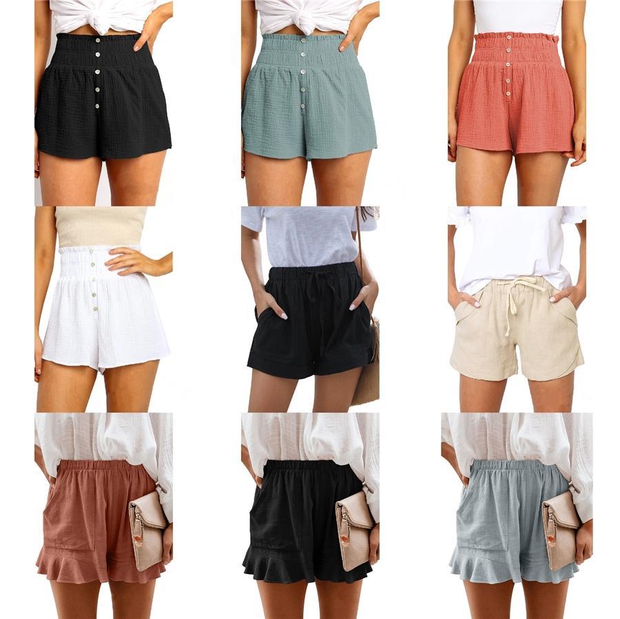 Casual Shorts Mulheres Cotton Sólidos Variety Verão carga Shorts Masculino Sweat Sports Jogger Calças joelho Womens Sweatpants Bermuda # 788