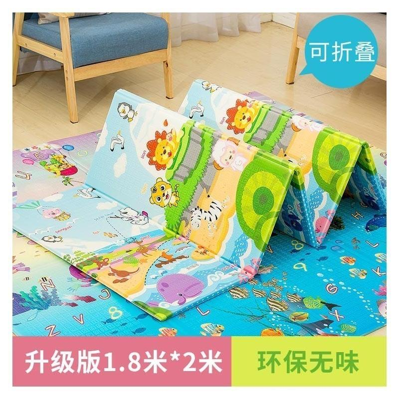 XPE Crawling Pad Baby Game Blanket Thickening Enlarges Children Folding Environmental Protection Safety Kids Play Mats Picnic Rug Wholesale