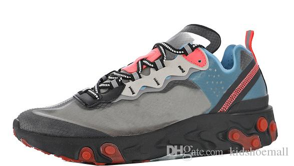 Mens Upcoming React Element 87 Scarpe da ginnastica per sneakers maschili Donne Sneaker Scarpe da corsa femminili Ragazzi Jogging Girls Sport Chaussures