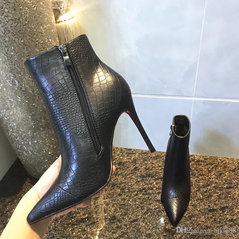 Fashion Luxury Red Bottom High Heels