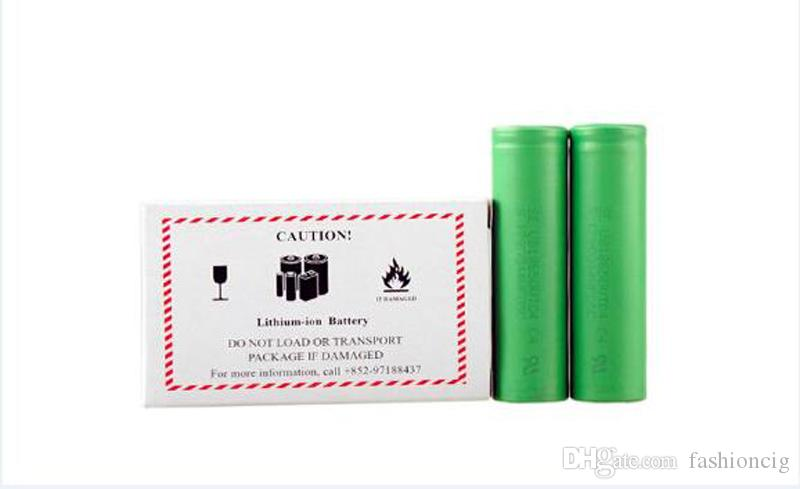 Authentic VTC6 VTC5 Battery 3000mAh 2600mAh 3.7V 30A Li-ion 18650 Rechargeable Batteries Using for Ecig Box Mods EC042
