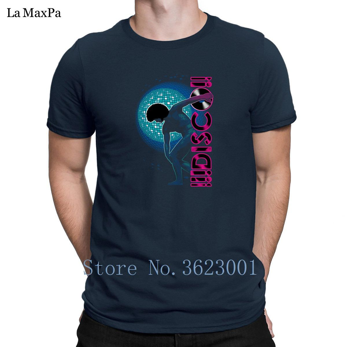 Imprimé Taille Plus 3XL Tee shirt homme Disco Man printemps hilarant T-shirts d'homme classique T Shirts Hommes Hot Sale Loisirs