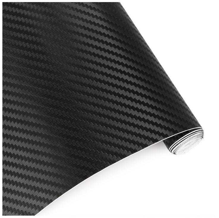 30cmx127cm 3D Carbon Fiber Vinyl Film Black Car Styling Waterproof Car Sticker wrap DIY Car Tuning Part Sticker