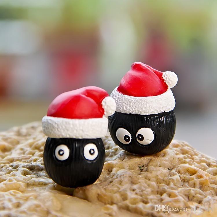 juguete 3cm mini Totoro figura de acción de las muñecas 2017 Nuevo Mi vecino Acción Figurens Muñecas Juguetes de Navidad linda del regalo para los niños
