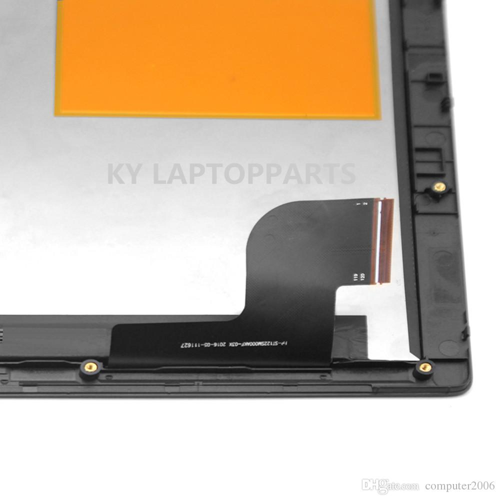LCD Touch Screen Digitizer Assembly+Bezel For Lenovo IdeaPad Miix 510-12ISK 80U1