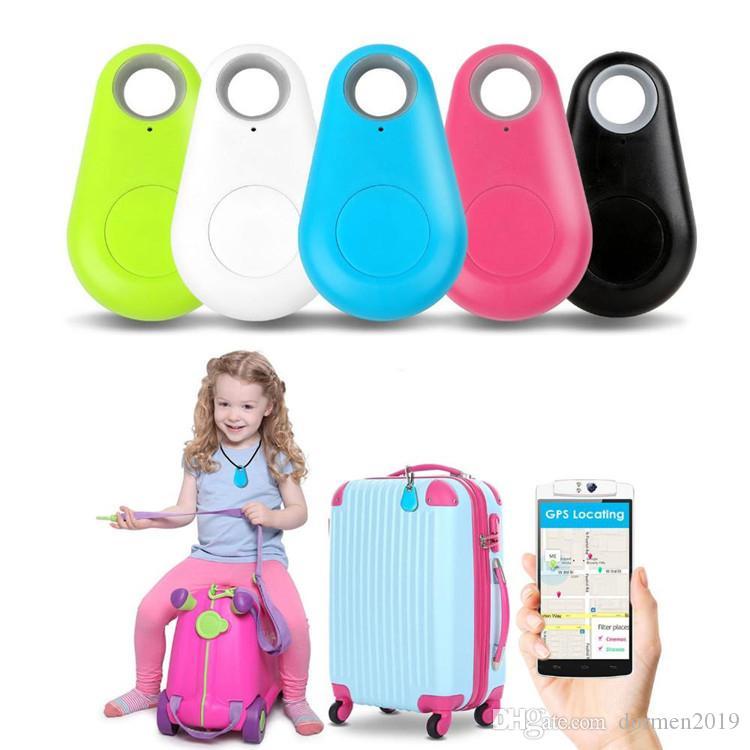 venda quente Mini Smart Wireless Bluetooth Car Tracker Criança Carteira animais Key Finder localizador GPS Anti-Lost alarme de lembrete para telefones