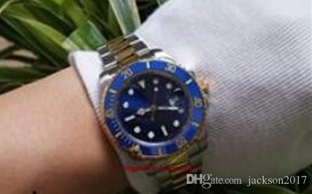 Lusso Glide Bloqueio da bracelete Mens New Automatic Assista Verde Relógios 116610LV Orologio Automatico Relógio de pulso Orologi da Uomo