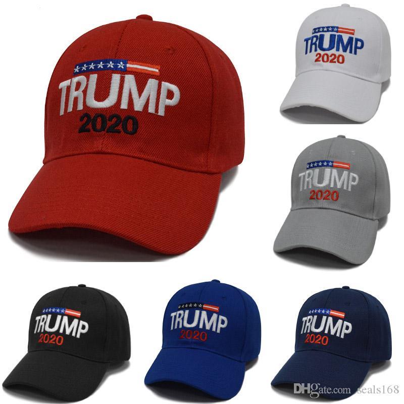 Trump 2020 Baseball Cap Designer Hat Donald Mesh Snapbacks Basketball Ball Hat Cap Party Hat HH9-2159