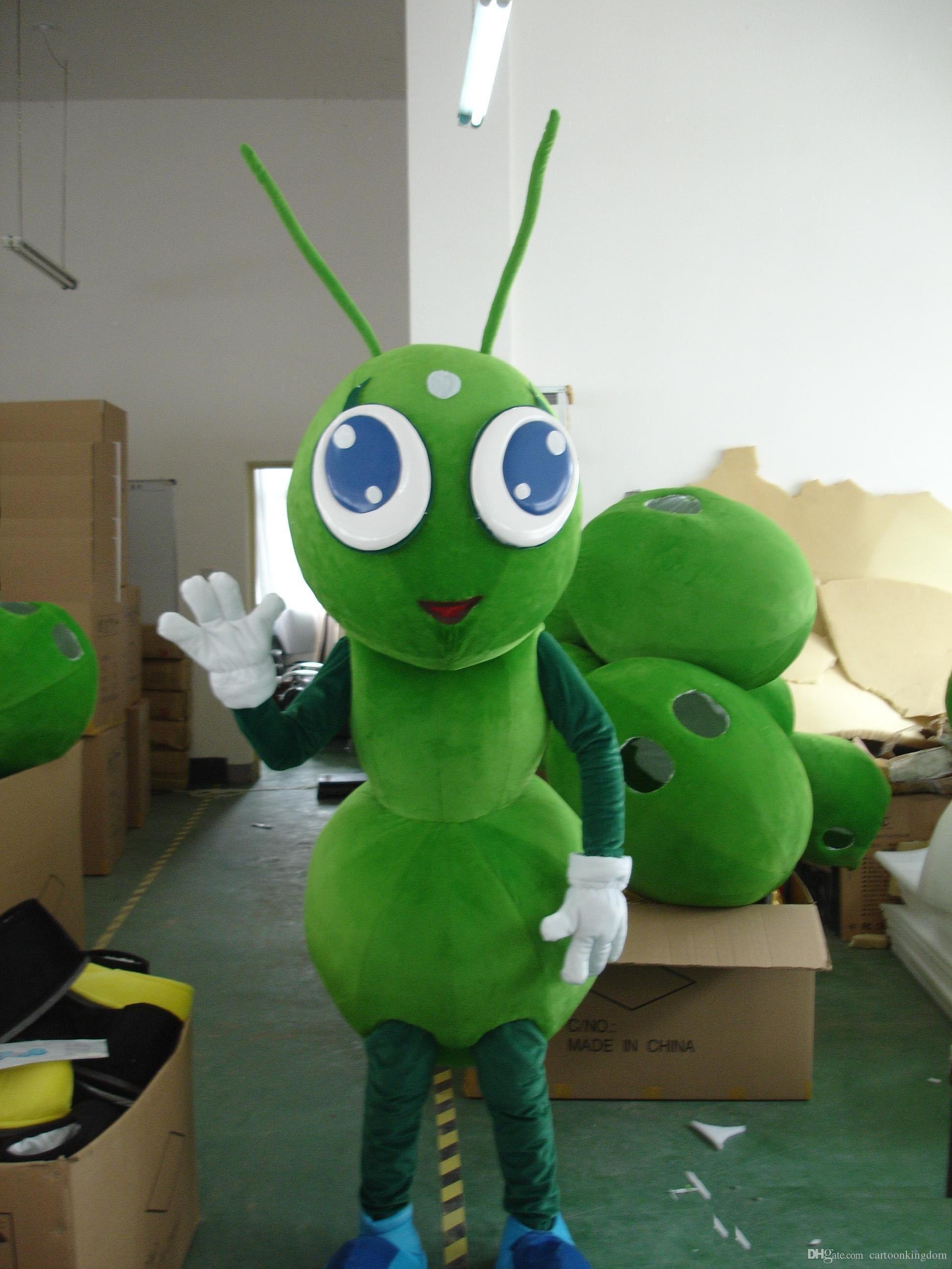 Alta qualidade mascot costume 100% real imagem ant traje da mascote para adulto frete grátis
