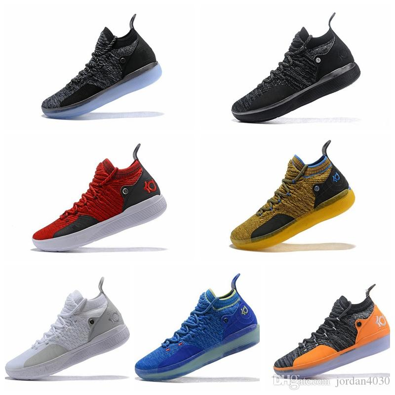 Nike KD 11 2020 وصول جديد KD 11 Mens Basketball Shoes, Top Quality React ZOOM KD11 EP Athletic Sport Sneakers AO2604-600 Eur Size 40-46