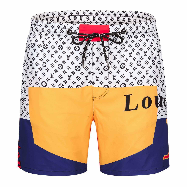 Водонепроницаемая ткань письмо печатная доска шорты мужские летние пляжные шорты для серфинга брюки высокое качество купальники мужские дизайнерские шорты