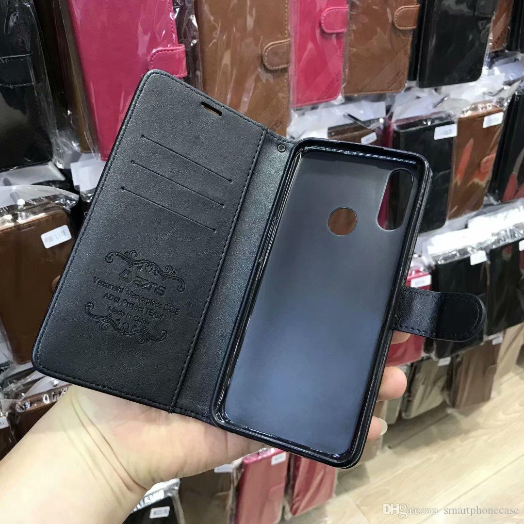 Nostaglic Cute Cover Classical Slim Flip Luxury Original Sticker PU Leather Case For Huawei Honor 9A