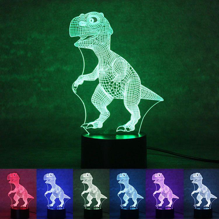 OHANEE Custom fit 3D LED dinosaur Neon Sign Light home bedroom wedding christmas festival decoration Arts Crafts birthday Gifts Lighting