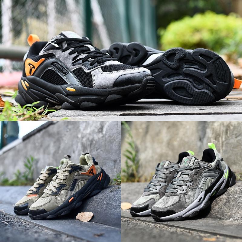 700 عاكس treeperi الأزياء مكتنزة 700 ثانية الرجال مصمم أحذية رياضية أسود رمادي البرتقال المدربين الأزياء الفاخرة منصة الأحذية 40-44