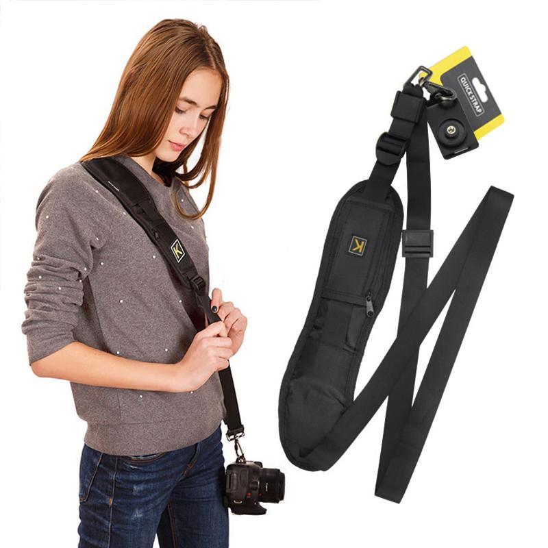 Accessories & Parts Camera K Portable Shoulder Camera Strap Quick Carry Speed Sling soft Shoulder Sling Belt Neck Strap For Canon