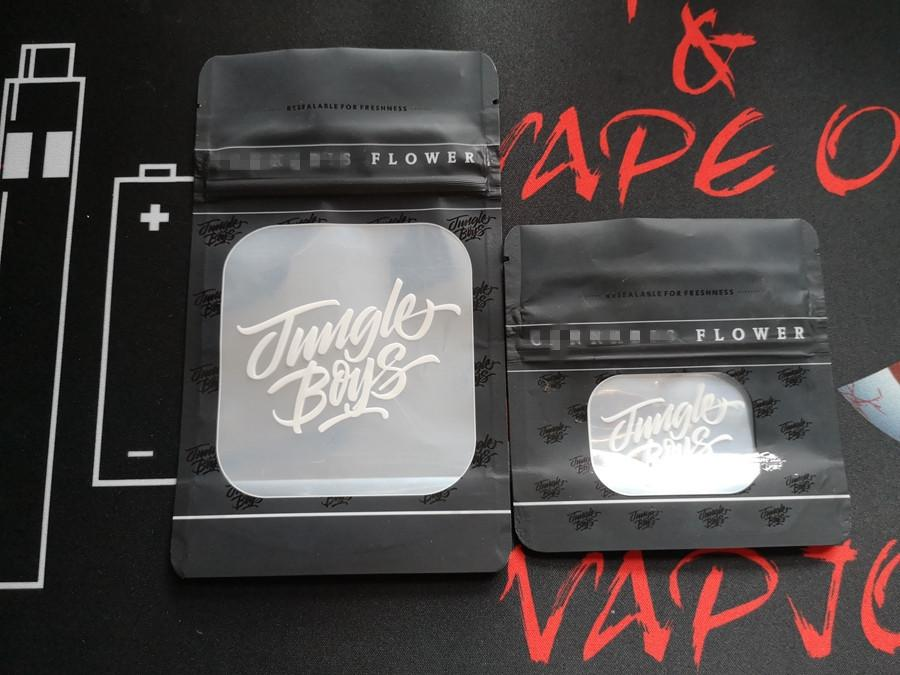 Jungle Boys Smell Proof Bags Jungleboys Package Ziplock Mylar Black Bags Only Packaging Pack Zipper Stand Up Pouch Dry Herb Flowers DHL