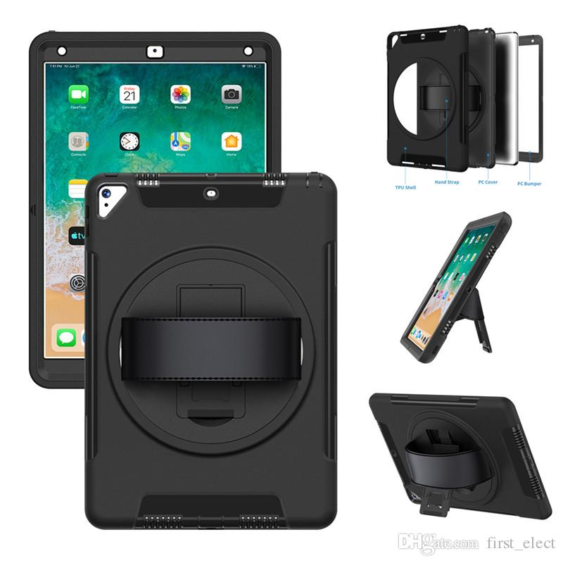 3in1 Hybrid Robot Defender Heavy Duty Shockproof Tablet Case For iPad 10.2 mini 5 iPad 2 3 4 Pro 10.5 Air 2 iPad 9.7 2017 2018 Pro 11 2018