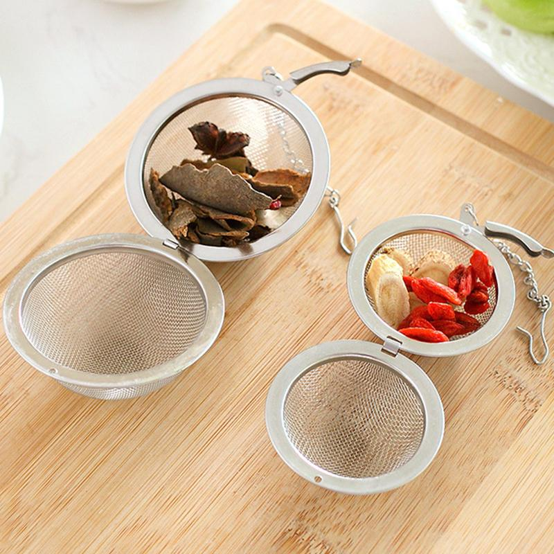 Lose-Blatt-Tee-Ei Edelstahl 304 Ball Mesh Blume grün Teefilter teaware tragbare Küchengeräte