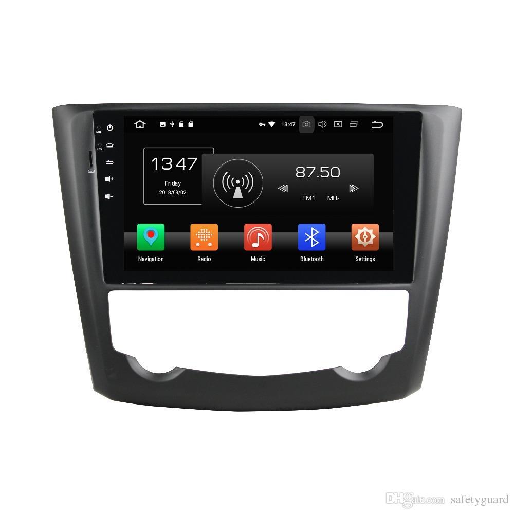 """안 드 로이드 8.0 Octa 코어 1 din 9 """"자동차 DVD 플레이어 르노 Kadjar 2015에 대 한 GPS 2016 자동 RDS 라디오 4GB RAM 블루투스 와이파이 USB DVR 32 기가 바이트 ROM"""