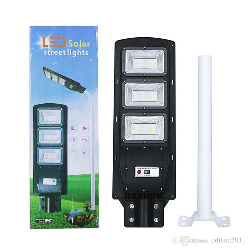 Edison2011 90W LED солнечный светильник стены IP65 Водонепроницаемый Солнечный свет Radar датчик движения солнечной Открытый лампа безопасности