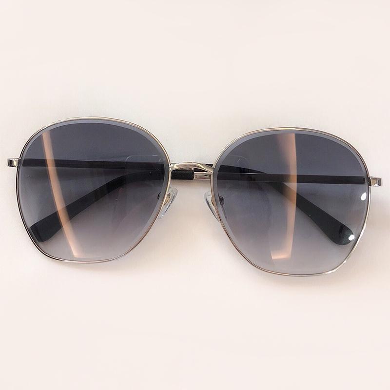 Lüks-Klasik Yuvarlak Güneş Gözlüğü 2019 Moda Metal Çerçeve Güneş Gözlükleri Polarize Shades UV400 Koruma Gözlük