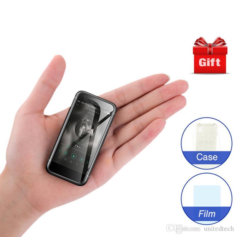 Lusso Super Mini 4G LTE Smart phone Melrose S9 PLUS 2.45 pollici Piccolo schermo Ultra sottile MTK6737 1GB 8GB + 32GB Più piccolo telefono Android 7.0