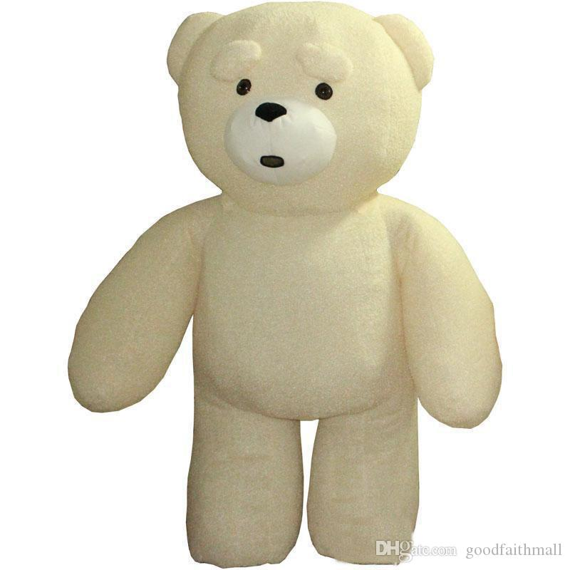 2019 Hot new Teddy Bear Inflatable Customize Adult Suitable For Bear Mascot Costume Animal Costume Brown Color fat costume for adult