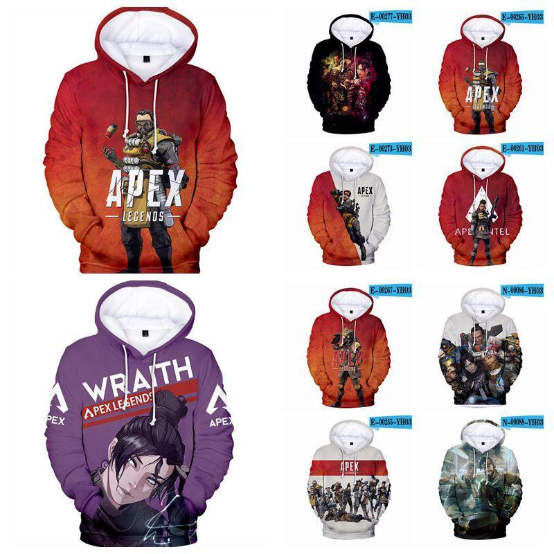 2019 36 styles apex legends hoodies unisex apex legends 3d printed sweatshirts hot game cosplay clothes men's hoodies cca11333 from sweatshirt lot sweatshirts 36 #5