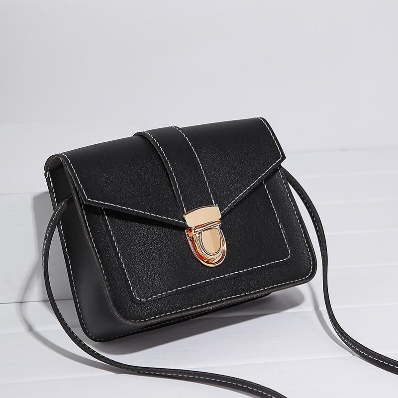 Individual2019 Oblique Season Crossing Mobile Phone Small Change Package Woman Soft Leather Key Bag Guangzhou