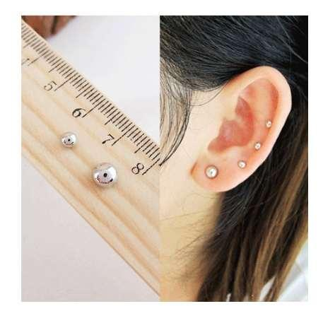 3MM 6 MM Mini l non percé aimant boucle d'oreille boucles d'oreilles magnétiques cool boucles d'oreilles livraison gratuite C94 C95