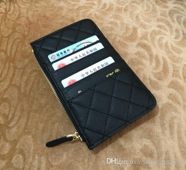 جديد أزياء المرأة حقيبة الهاتف المحمول وظيفة متعدد الصفر حقيبة المال VIP بطاقة حقيبة مصمم جلد الائتمان فاخرة هدية محفظة طويل جيب الرمز البريدي