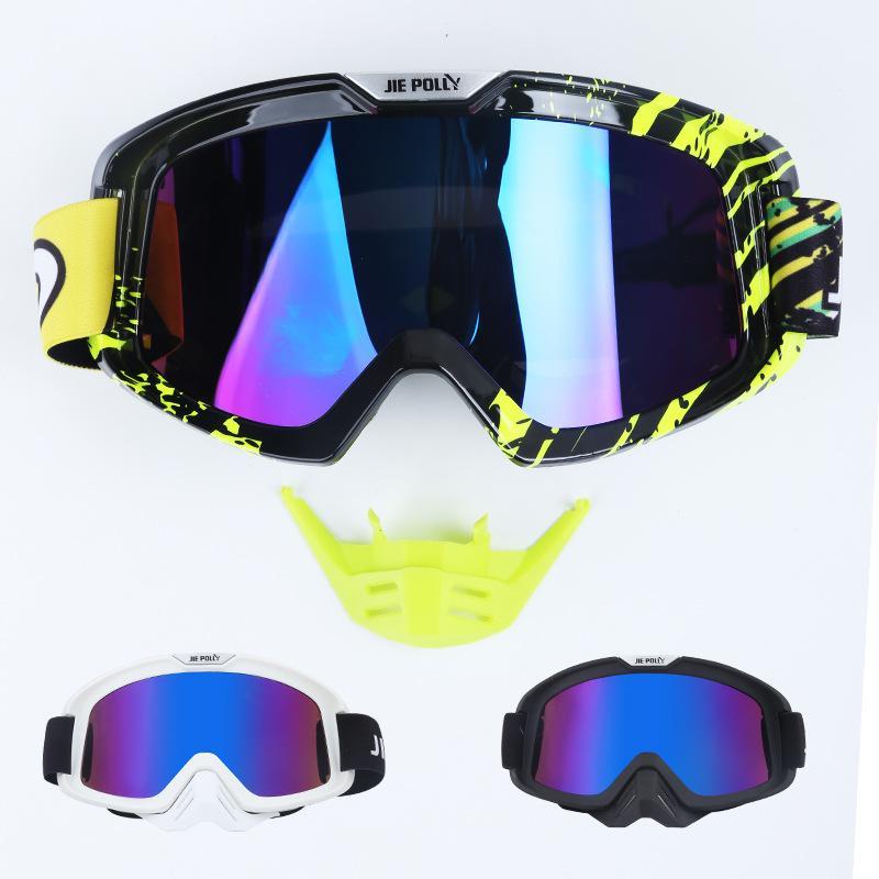 100% Мужчины Женщины Мотокросс Очки MX Off Road Шлемы Очки Лыжный спорт Gafas для мотоциклетных мотоциклетных гонок Google Glasses