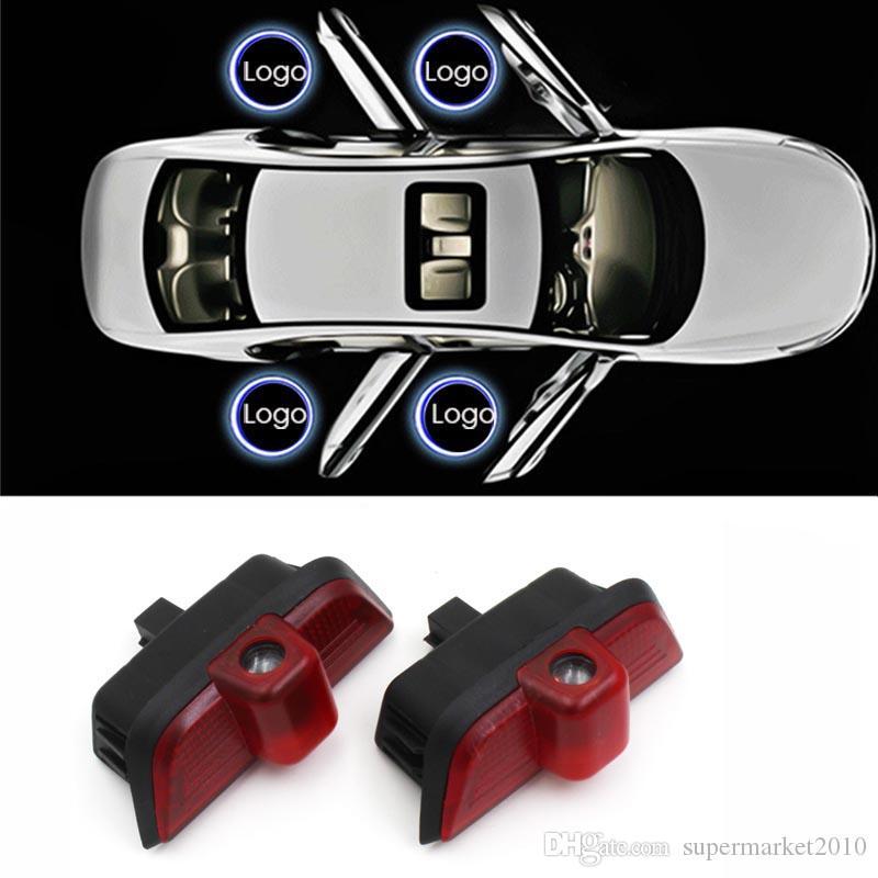 LED 자동차 문 빛을 위해 메르세데스 벤츠 W204 C 클래스 C200 C300 C280 C260 AMG 주도 레이저 프로젝터에 오신 것을 환영 빛 램프 유령 그림자 액세서리