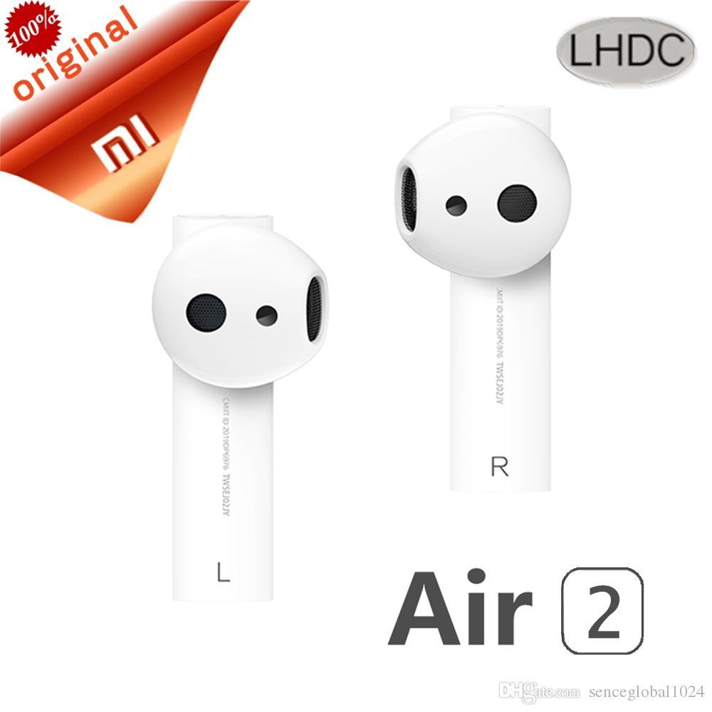 Original Xiaomi Air TWS Bluetooth Headset 2 Airdots Pro 2 Xiaomi Inteligente Voice Control lHDC HD Som dinâmico Tap Control ENC