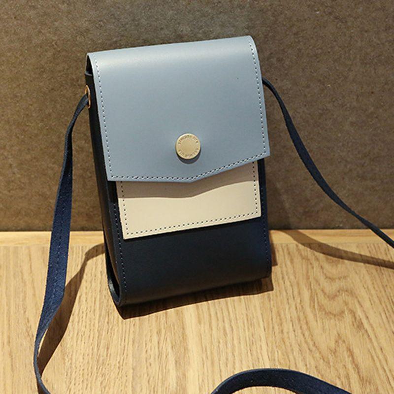 Bolsa de teléfono Bolsa de celda Crossbody Hombro Teléfono Celular Crossbody Multifunción MUCHACHA MINI LADAS MINI MINI MINE BOLSA BOLSO NCNVX