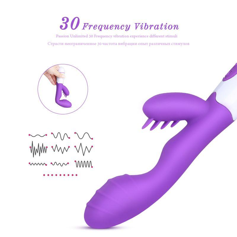 Prodotto Vasca Vaginal Spot Vibratore per Finger Rabbit G Donna Massage Speed Speed Orgasmo Giocattolo del sesso Lesbica per Vibratore 30 Donne Adult MX1912 NFJWS