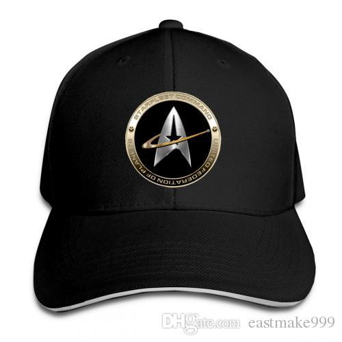 ستار تريك 50 الكبار قبعة بيسبول Snapback القبعات الهيب هوب شقة هات Unisexe الرجال النساء قبعات الرياضة في الهواء الطلق قبعة شبكة قبعة