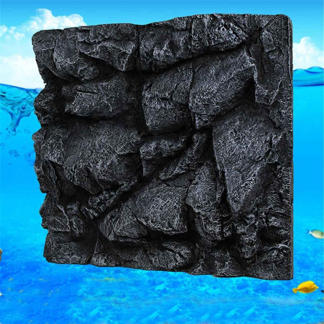 60X55X10cm PU 3D Pietra Roccia Aquarium background Fish Tank Sfondo Sfondo Reptile Boards Acquario paesaggistica Decoration